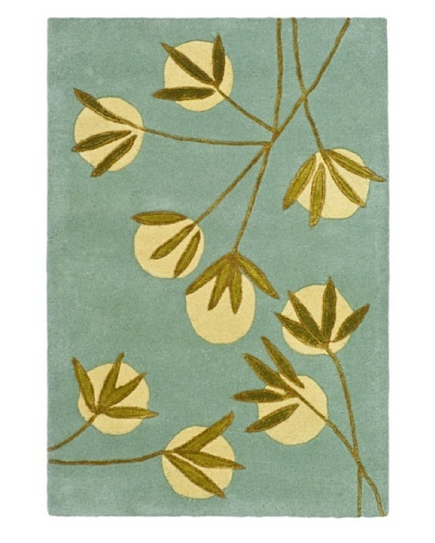 Safavieh Soho Collection Wool Rug [Light Blue/Green]