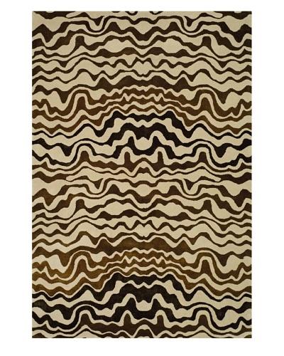 Safavieh Soho Collection Tribal New Zealand Wool Rug [Beige/Brown]