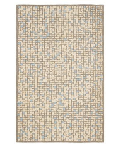 Safavieh Martha Stewart Mosaic Rug, Cornucopia Beige/Beige, 5' x 8'