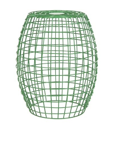 Safavieh Eric Grid Stool, Green