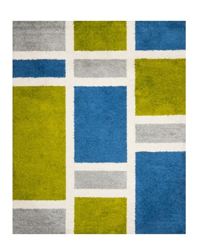 Safavieh Shag Rug [Blue/Green]