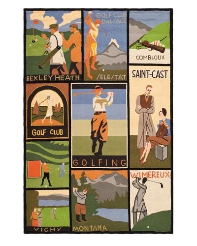 Safavieh Vintage Posters Rug, Multi, 4' x 6'