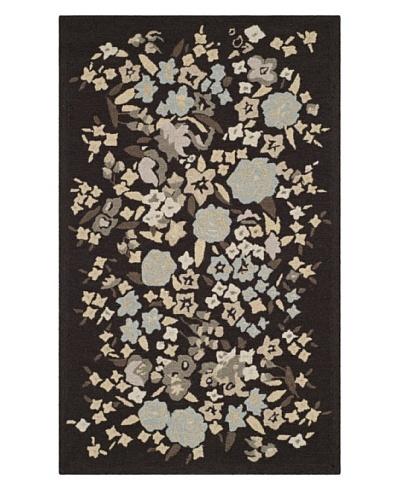 Safavieh Martha Stewart Watercolor Garden Rug, Inkwell, 3' 9 x 5' 9
