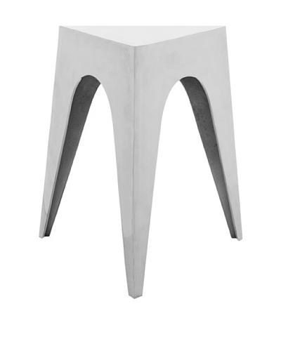 Safavieh Home Collection Amanda Triangle Aluminum Side Table