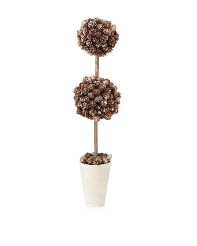 Sage & Co. Frosted Pinecone Topiary