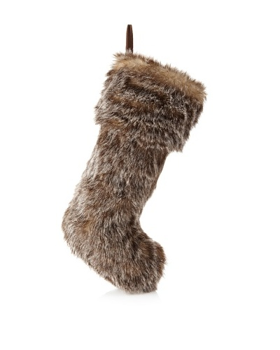 Sage & Co. Faux Fur Stocking