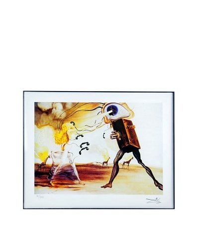 Salvador Dalí Modern Rhapsody - The Seven Arts Framed Limited Edition