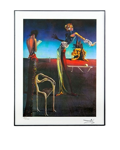 Salvador Dalí Woman with Head of Roses Framed Limited Edition