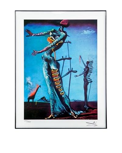 Salvador Dalí Burning Giraffe Framed Limited Edition