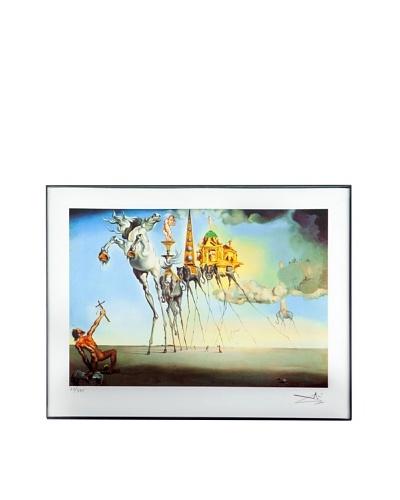 Salvador Dalí The Temptation of St. Anthony Framed Limited Edition
