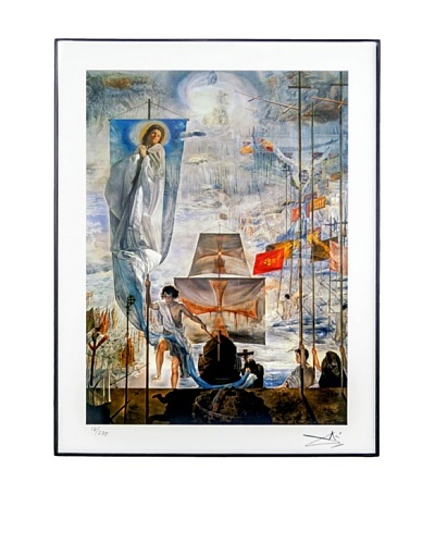 Salvador Dalí Discovery of America Framed Limited Edition