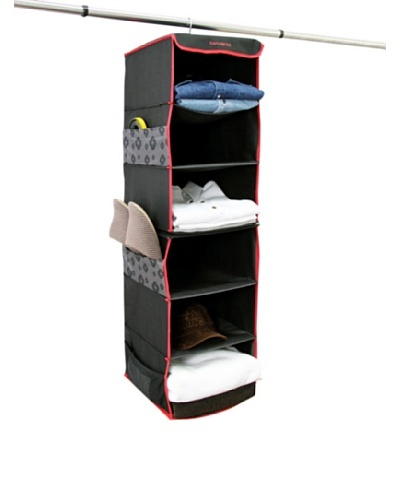 Samsonite Hanging Organizer, Charcoal/Red