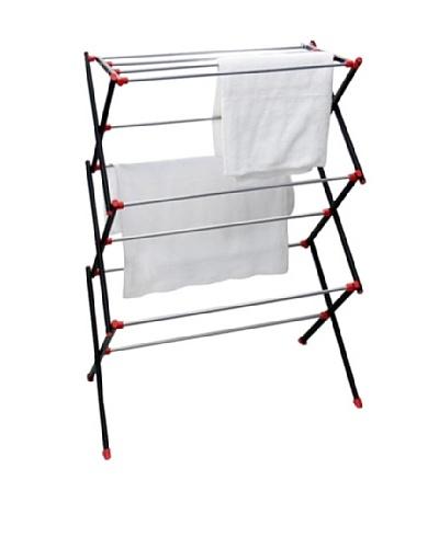 Samsonite Space-Saving Collapsible Dryer Rack, Black, Regular