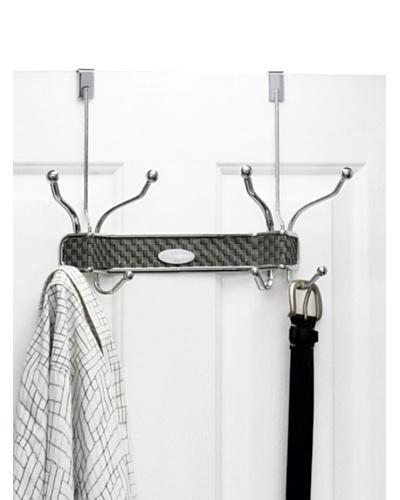 Samsonite Chrome 8 Hook Over The Door Hanger