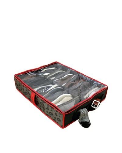 Samsonite Shoe Storage, Charcoal/Red