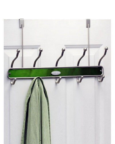 Samsonite 10-Hook Door Hanger, Moss Green