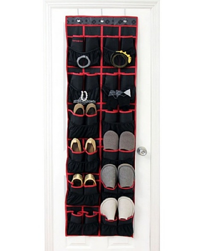 Samsonite Shoe Storage, Charcoal/Red