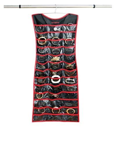 Samsonite Jewelry Organizer, Charcoal/Red