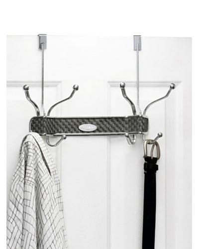 Samsonite 8-Hook Over-the-Door Hanger, Chrome