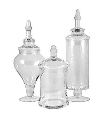 San Miguel Set of 3 Aris Apothecary Jars