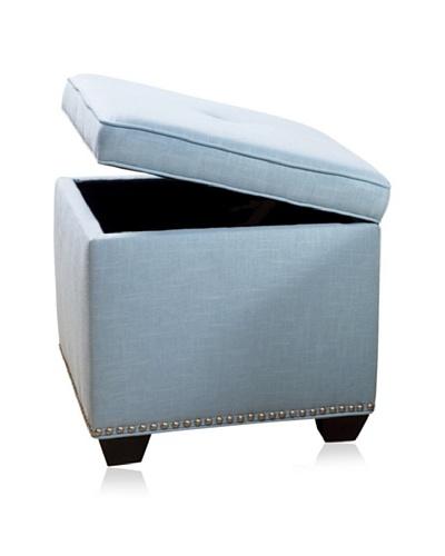 Sandy Wilson Cashmir Storage Cube, Light Blue