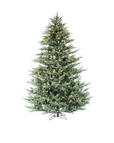 Santa's Own 7.5' Grayson Fir Pre-Lit Tree