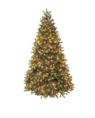 Santa's Own 7.5' Bridgeport Douglas Pre-Lit Tree