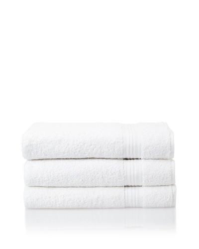 Savannah by Chortex 3-Piece Bath Sheet Set, White