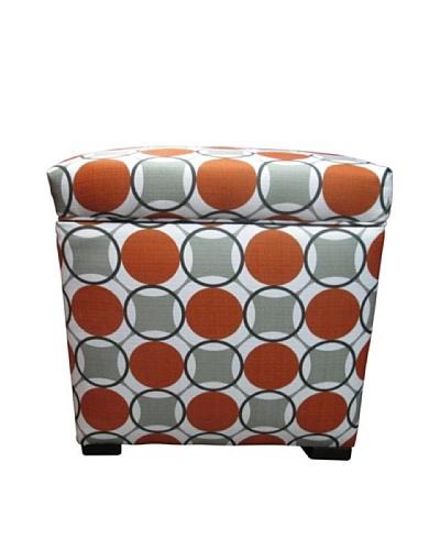 Sole Designs Tami Storage Ottoman, Halo Grani
