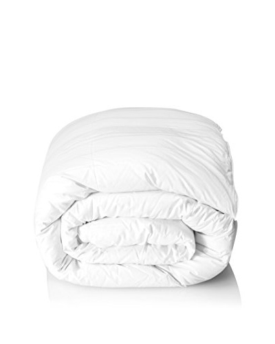 Scandia Home Lucerene Ultra/Lite Dual Comforter, White, Queen