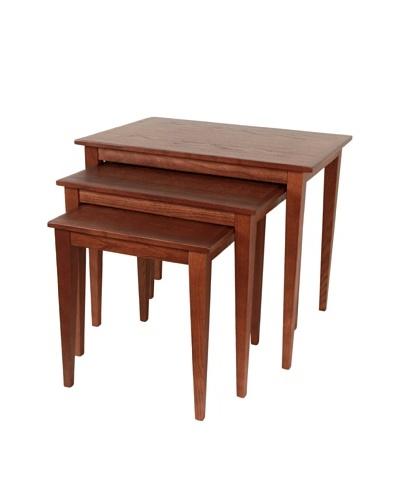 Control Brand Three Piece Nesting Table Set
