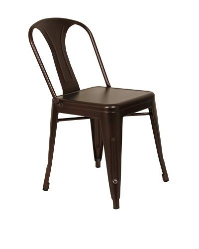 Control Brand Berit Side Chair, Coffee
