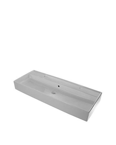 Scarabeo By Nameeks 8031R120/B Bathroom Sink, White