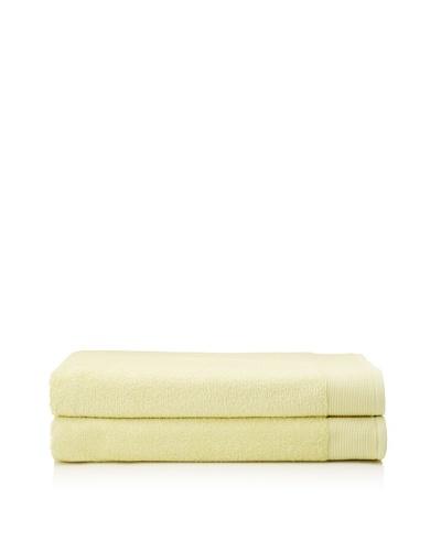 Schlossberg Sensitive 2 Piece Bath Sheet Set, Lime