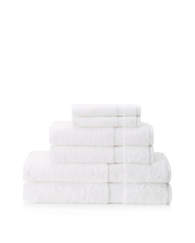 Schlossberg Hellas 6 Piece Towel Set [White]