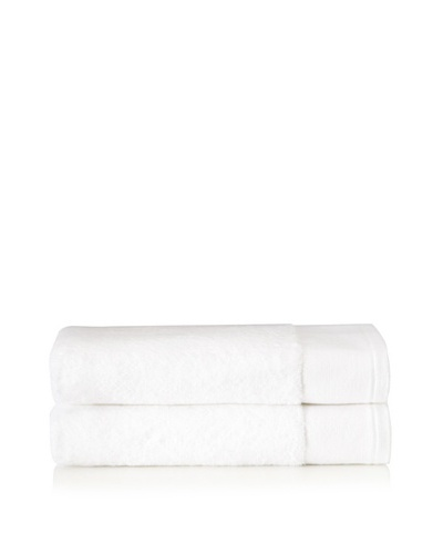 Schlossberg Set of 2 Interio Bath Towels, White