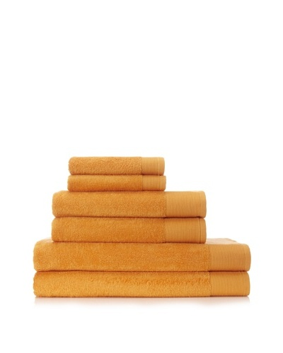 Schlossberg Sensitive 6 Piece Towel Set [Mandarine]