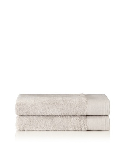 Schlossberg Set of 2 Interio Bath Towels, Grey