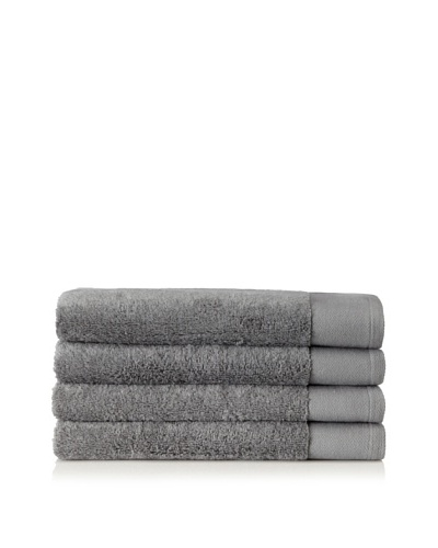 Schlossberg Set of 4 Interio Hand Towels, Stone
