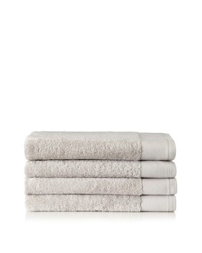 Schlossberg Set of 4 Interio Hand Towels, Grey