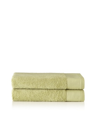 Schlossberg Set of 2 Interio Bath Towels, Kiwi