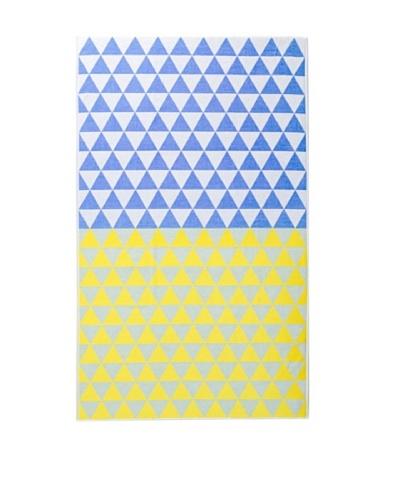Schlossberg MARESOL Beach Towel, Yellow/Blue