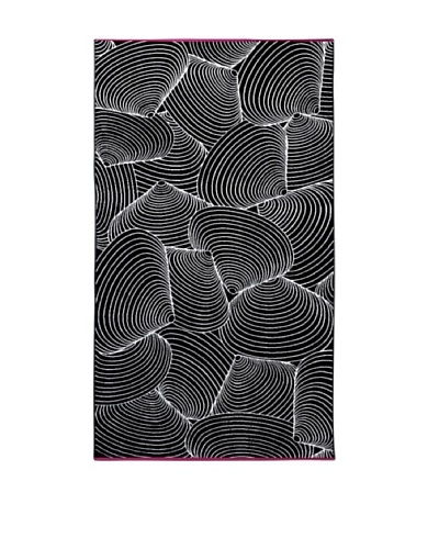 Schlossberg SEASHELL Beach Towel, Black