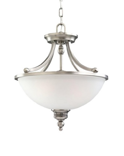 Sea Gull Lighting 2-Light Laurel Leaf Semi-Flush Convertible Fixture