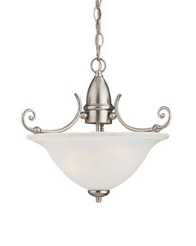 Sea Gull Lighting Canterbury 2-Light Pendant, Brushed NickelAs You See