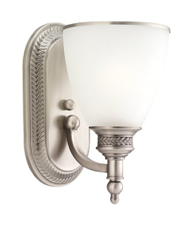 Sea Gull Lighting 1-Light Wall Sconce [Antique Brushed Nickel]