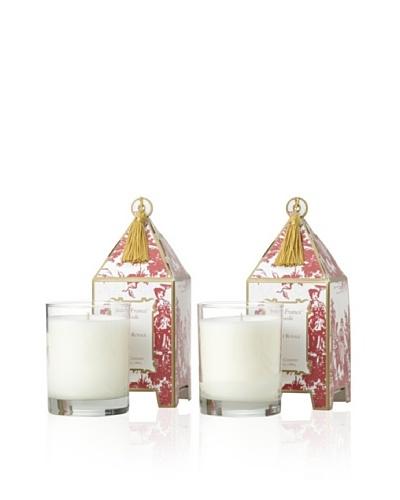 Seda France Set of 2 Forêt Royale Pagoda Candles