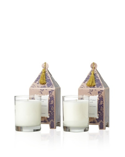 Seda France Set of 2 Figue et Cyprès Limited Edition Pagoda Candles