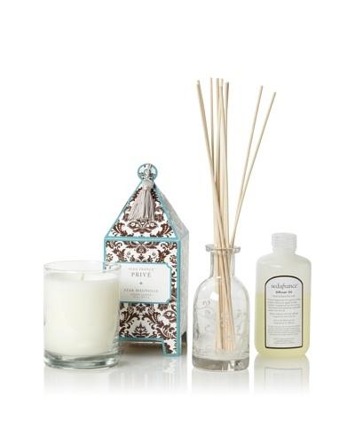 Seda France Star Magnolia Privé Pagoda Candle and Diffuser Set