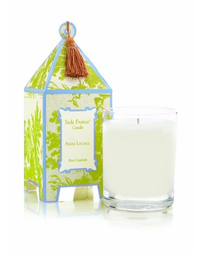 Seda France Asian Lychee Pagoda Box Candle, 10-Oz.